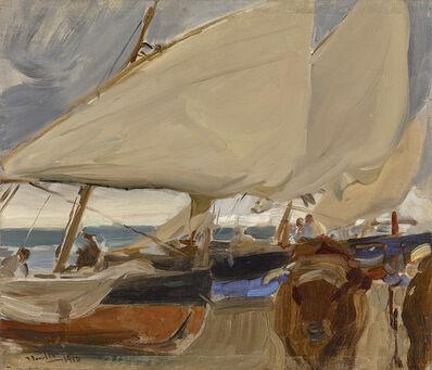 Joaquín Sorolla y Bastida, 'PLAYA DE VALENCIA', 1910