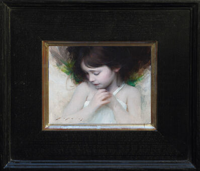 Jeremy Lipking, 'Green and Grey', 2013