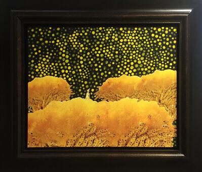 Yayoi Kusama, 'KUSAMA IN FLOWER GARDEN', 1996