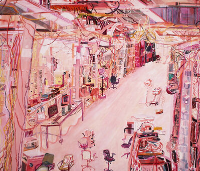 Olive Ayhens, 'Computer Lab', 2005