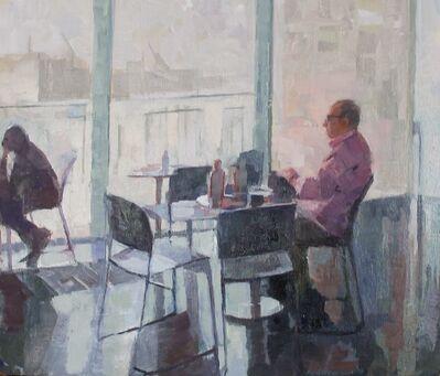 Ceri Allen, 'Cafe Gallery study'