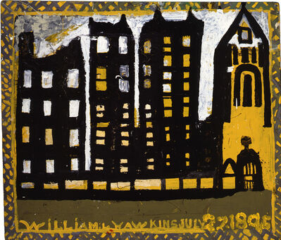 William Hawkins, 'Columbus Buildings', 1988