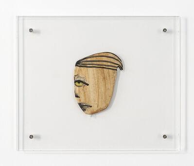 February James, 'Untitled Face (mohawk)', 2019