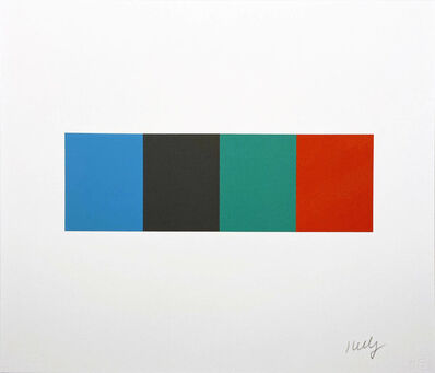 Ellsworth Kelly, 'Blue Gray Green Red from the Artist for Obama Portfolio', 2008