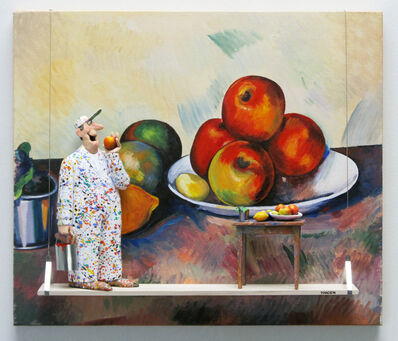 Stephen Hansen, 'Still Life with Apples (Cezanne)', 2019