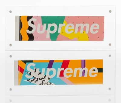 Supreme, 'Medini Sticker (Blue)', c. 2016