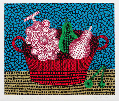 Yayoi Kusama, 'Panier de fruits I', 2000