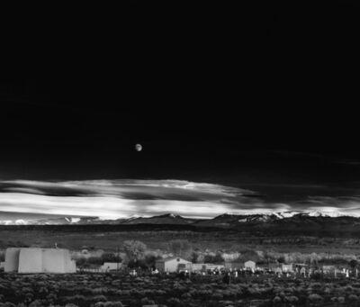 Ansel Adams, 'Moonrise, Hernandez, New Mexico', 1941