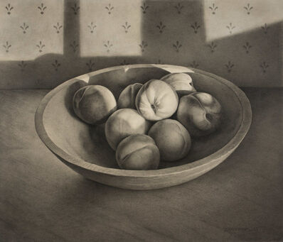 John Whalley, 'Bowl of Peaches', 2016