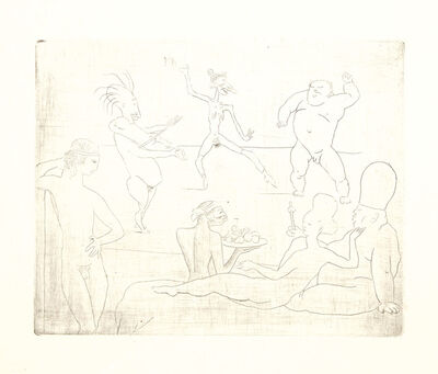 Pablo Picasso, 'La Danse, from La suite des Saltimbanques', 1905