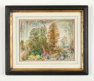 Wayne Nowack, 'Trees in the Rain September', 1975