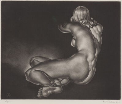 Reynold Henry Weidenaar, 'Repose', 1951