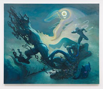 Inka Essenhigh, 'Daphne and Apollo', 2013