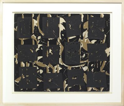 Robert Richenburg, 'MOMA Collage', 1960