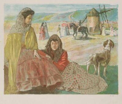 Alexandre Lunois, 'A Utrera', 1897