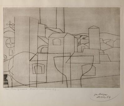 Ben Nicholson, 'San Gimignano', 1953