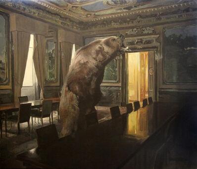 Iñigo Navarro, 'Can a bear believe in God?', 2019