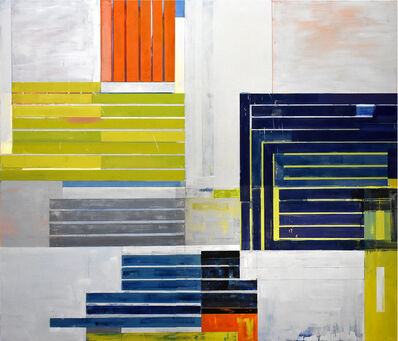 Lloyd Martin, 'Blue Bender', 2017