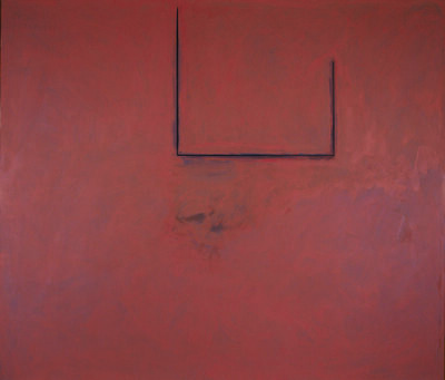 Robert Motherwell, 'Premonition Open with Flesh over Grey', 1974