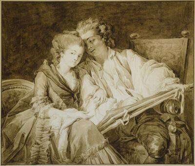 François-André Vincent, 'The Drawing Lesson', 1777