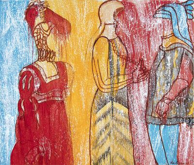 Grace Hartigan, 'Renaissance Costumes', 2003
