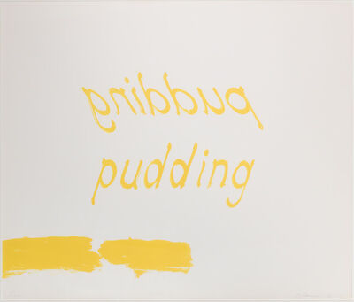 Bruce Nauman, 'Proof of Pudding', 1975