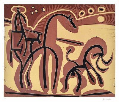 Pablo Picasso, 'Picador et Taureau (Picador and Bull)', 1959