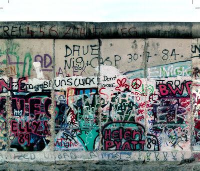 Michel Hosszu, 'MUR DE BERLIN – 11', 1990