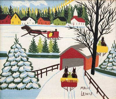 Maud Lewis, 'Covered Bridge'
