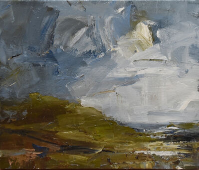 Louise Balaam, 'Sweeping clouds, Penwith'