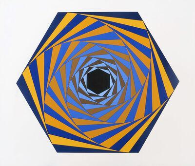 Victor Vasarely, 'Los Angeles', 1981