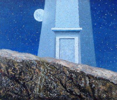 Steven Rhude, 'Rock and Lighthouse', 2019
