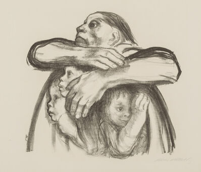 Käthe Kollwitz, 'Seed-Corn Must Not be Ground', 1941