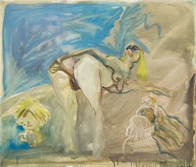 Siegfried Anzinger, 'Erotikunterricht', 2005