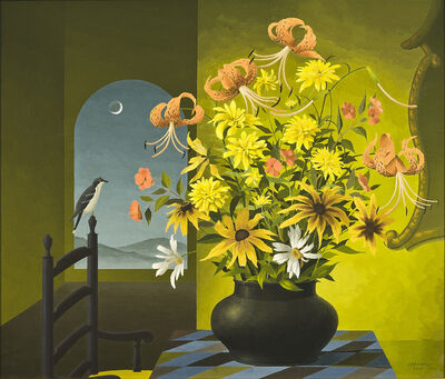 Thomas Fransioli, 'Still Life of Flowers', 1959