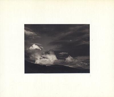 Ansel Adams, 'Moon and Clouds, Kern Basin, Sierra Nevada', ca. Circa 1936