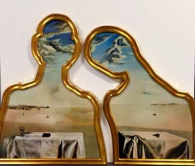 Salvador Dalí, 'Couple aux têtes pleines de nuages', ca. 1990