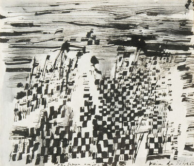 Maria Helena Vieira da Silva, 'Domaine musical, recherche III', 1967