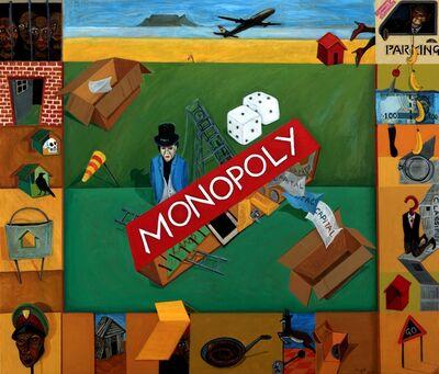 Richard Mudariki, 'Monopoly', 2018