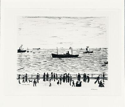 L.S. Lowry, 'Seaside Promenade', 1969