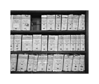 Ursula Schulz-Dornburg, 'Archivo de Indias en Seville, B02-N07', 2001/2020
