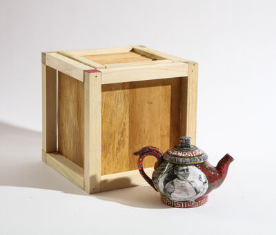 Roberto Lugo, 'Serena Williams Teapot and Box Set', 2021