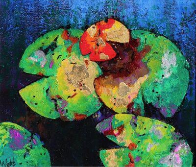 Kenneth Webb, 'Waterlily Gold II'