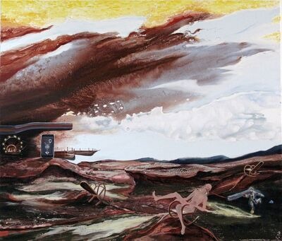 Michael Sistig, 'Veranda am Haus zum Hardes', 2010