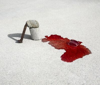 Ilán Rabchinskey, 'Concrete, stone, metal, gelatin #2', 2017