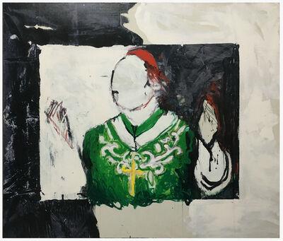 Mario Schifano, 'Udienza', 1992