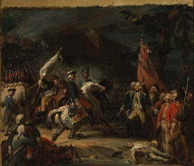 Auguste Jean-Baptiste Vinchon, 'The capitulation of Yorktown'