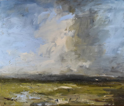 Louise Balaam, 'High cloud, pure blue sky'