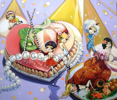 Zheng Lingxin, 'My Happy Baby -Pig Babies ', 2007