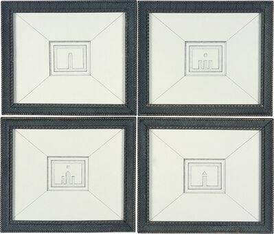 Pablo Bronstein, '4 Facades', 2006